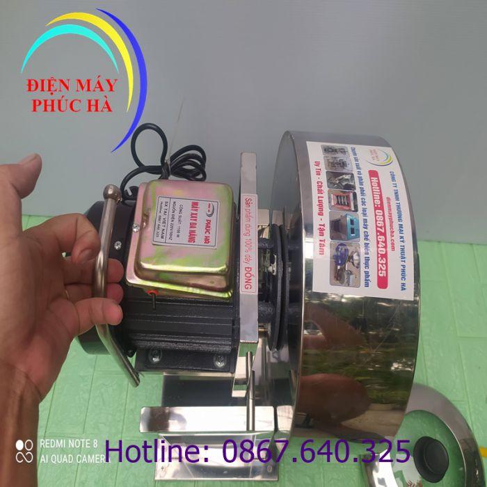 Máy xay giò chả 2kg khung inox