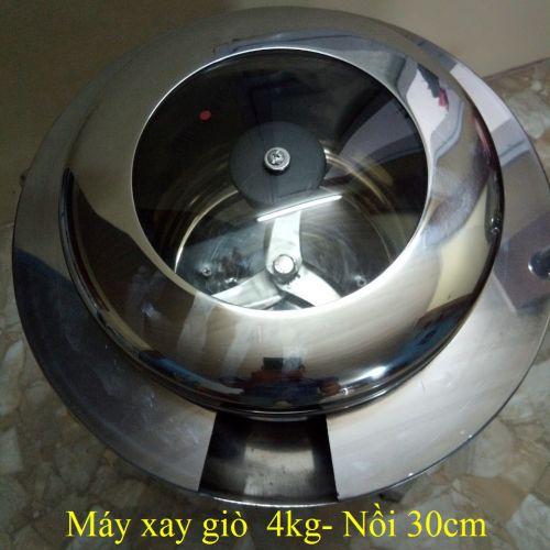 Máy xay giò chả loại 4kg
