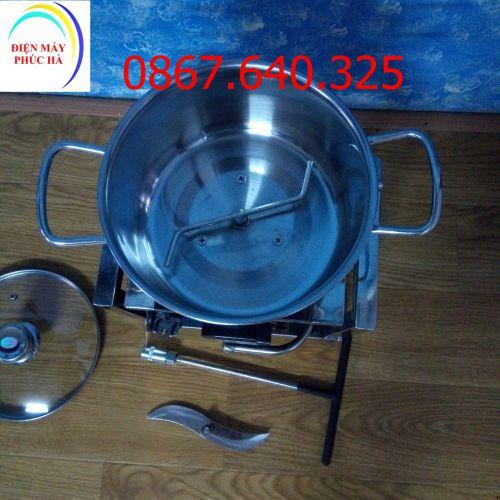 Máy xay riềng, sả, ớt loại 1,5kg khung hộp inox
