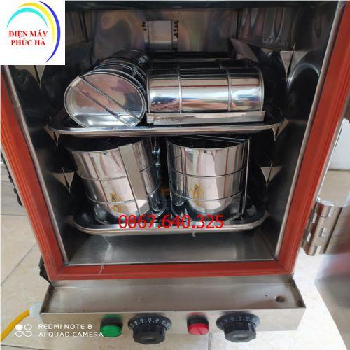Tủ hấp giò loại 4 khay (12kg/mẻ)